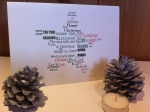 Personalised Custom SPECIAL Christmas Greetings Card